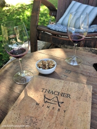 Tasting at Thacher